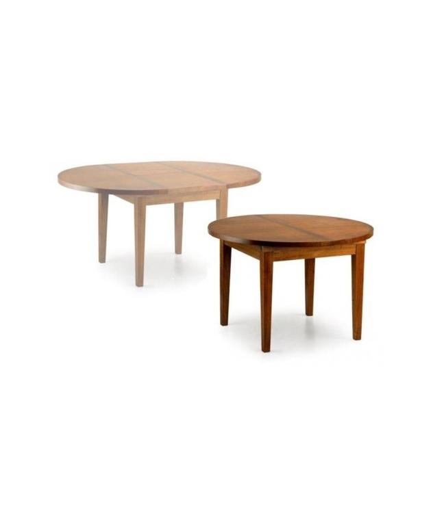 Casas cocinas mueble mesa redonda comedor extensible for Mesa redonda cocina ikea
