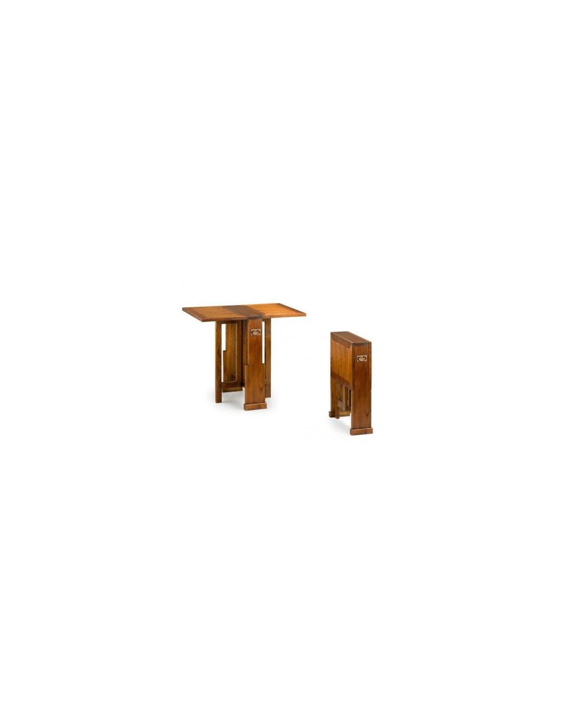 Comprar mesa auxiliar plegable 2 alas - Mesa plegable alas ...