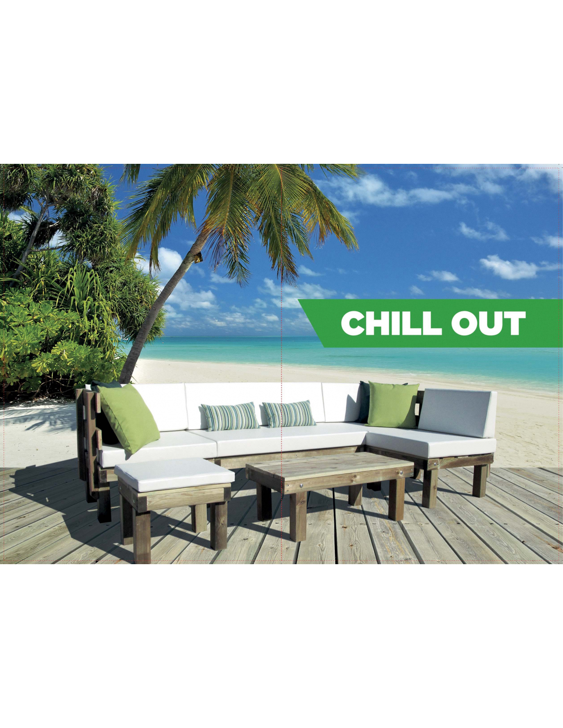 comprar mesa de centro chill out 45x90cm