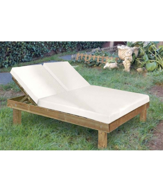 tumbona doble chill out madera - Tumbonas Madera