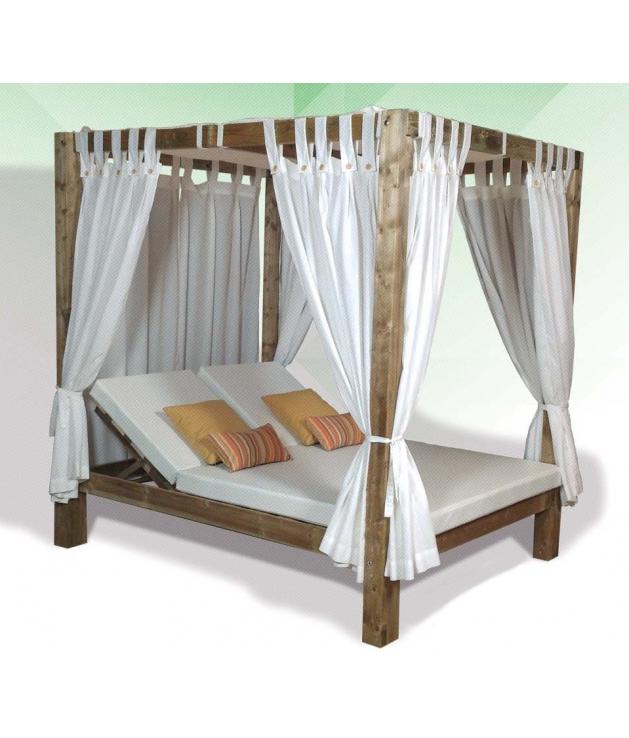 Comprar cama balinesa madera reclinable for Cama balinesa ikea