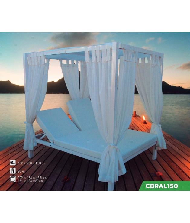 Cama Balinesa Aluminio Reclinable