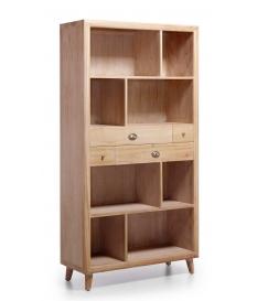 Librería Bromo 4 cajones y 8 huecos 100x40x190 cm
