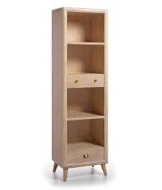 Librería Bromo 3 cajones y 4 huecos 55x40x190 cm