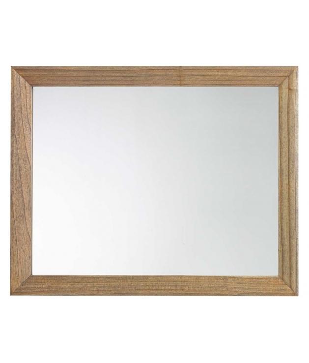 Espejo Merapi marco madera 80x100 cm
