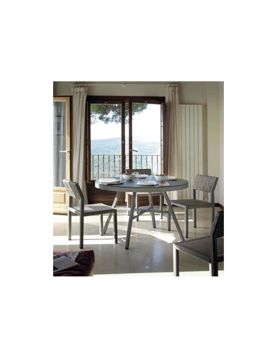 Comprar conjunto de jard n cube sillas y mesa di metro 120 cm for Conjunto de mesa y sillas de jardin