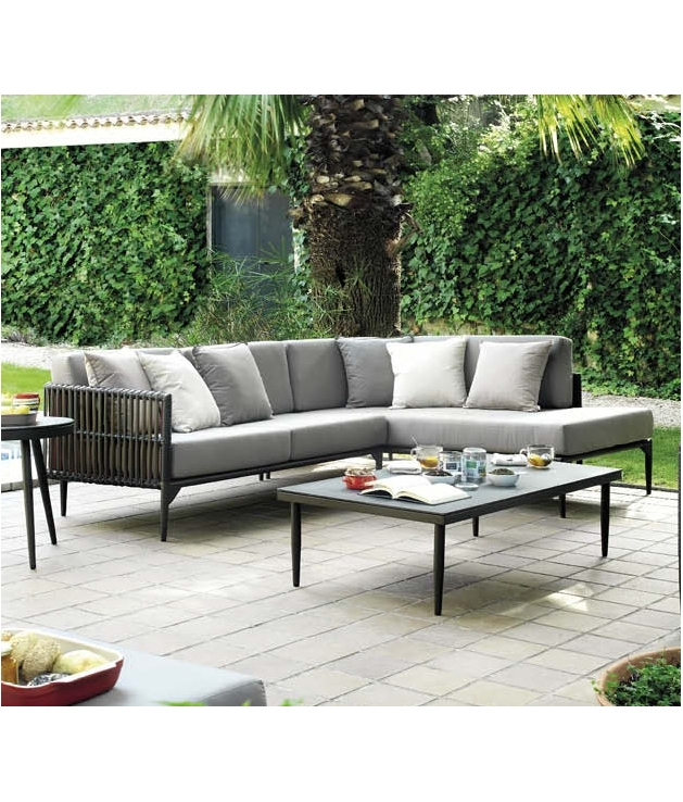 Sofas jardin top dcoration salon sofa gris grenoble for Chaise longue jardin pvc