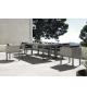 Conjunto jardín Cube 6 sillones y mesa 240x100 cm