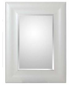 Espejo vintage madera blanca
