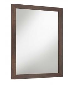 Espejo Spartan marco recto de madera