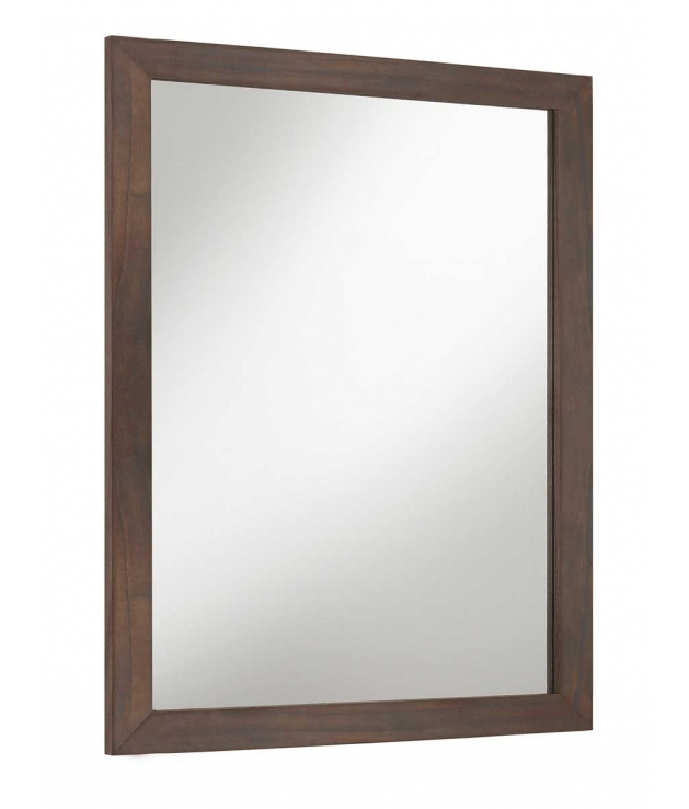 Comprar espejo spartan marco recto de madera for Espejo marco wengue