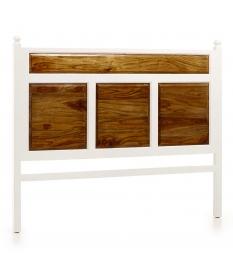 Cabecero New White 4 paneles cama 150 cm