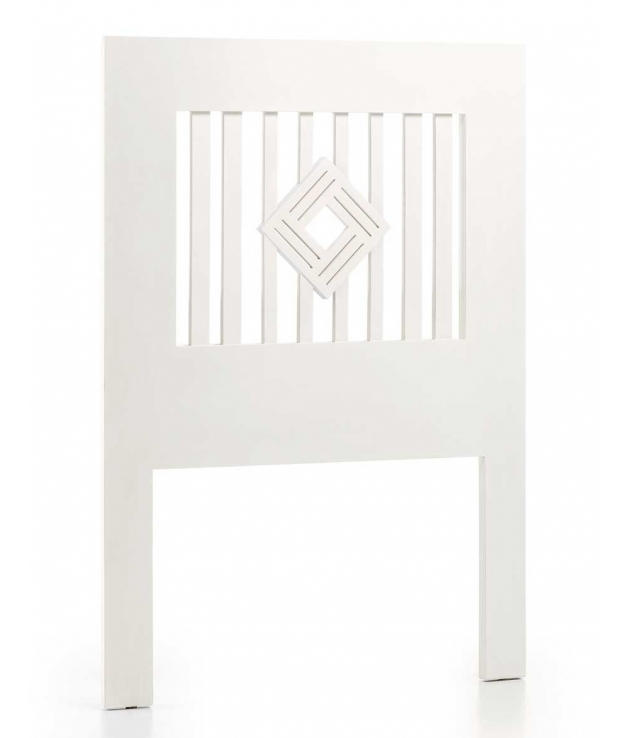 Cabecero New White rombo centro cama 90 cm