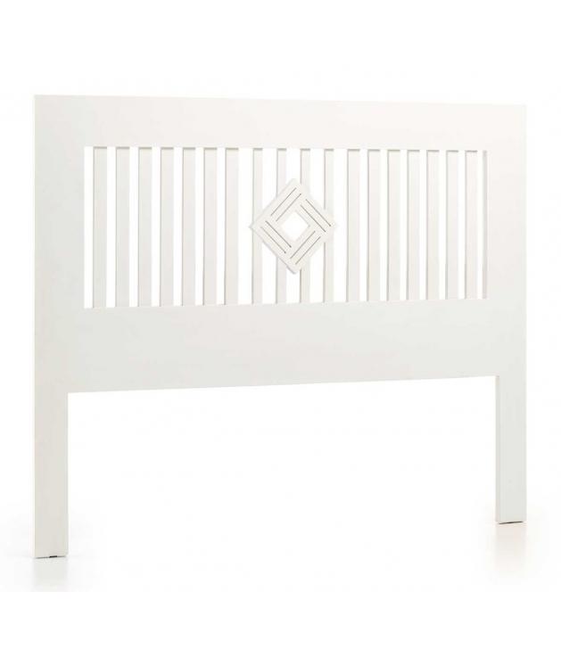 Cabecero New White rombo centro cama 150 cm