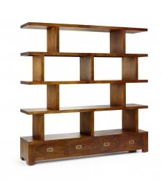 Librería Star irregular con separadores y 3 cajones