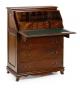 Cómoda con escritorio secreter Vintage 5 cajones