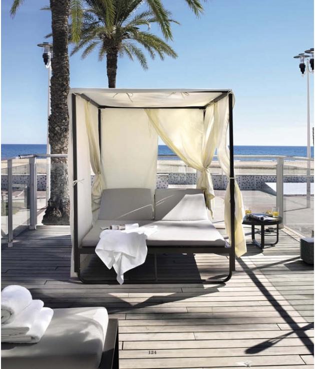 Comprar cama balinesa aluminio reclinable star for Cama balinesa ikea