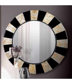 Espejo decorativo veneciano marco cristal color