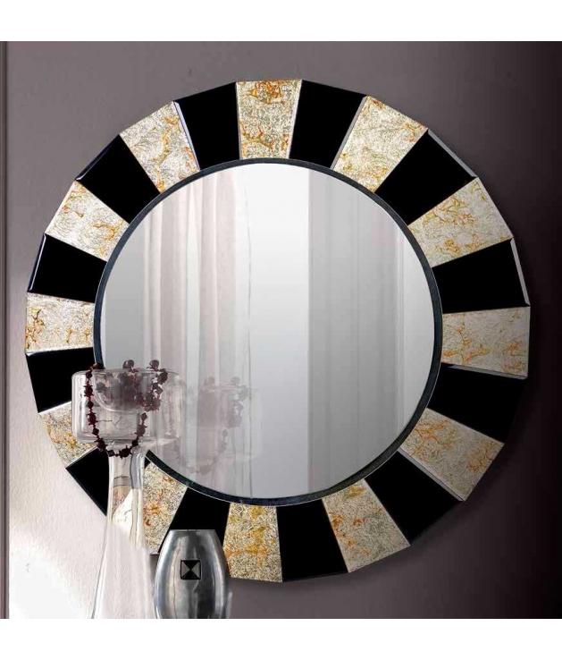 Comprar espejo decorativo veneciano marco cristal color 90 for Espejo marco cristal