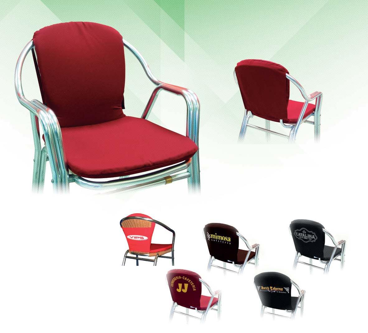 Cojines para silla gallery of cocina cojines de silla y - Cojines para silla ...