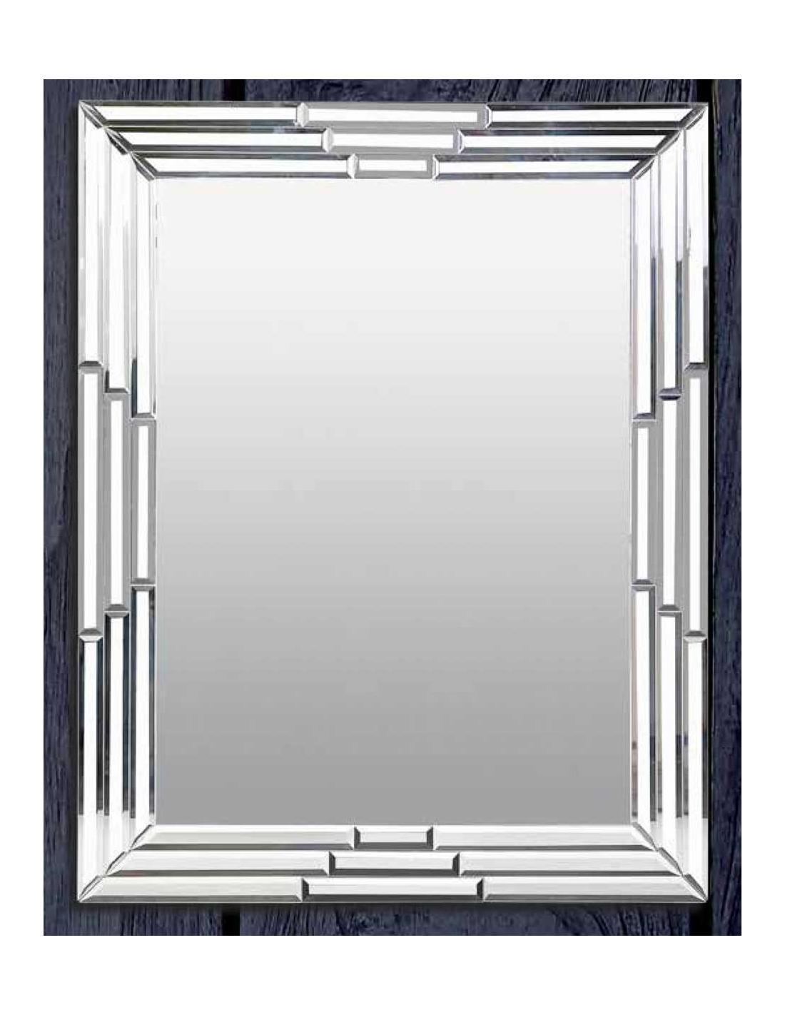 Comprar espejo veneciano rectangular con marco espejos 70 for Espejo rectangular con marco