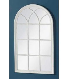 Espejo ventana madera 80 x 140 cm