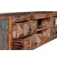 Mueble TV vintage madera reciclada
