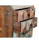 Mesita vintage madera reciclada