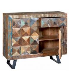 Recibidor vintage madera reciclada