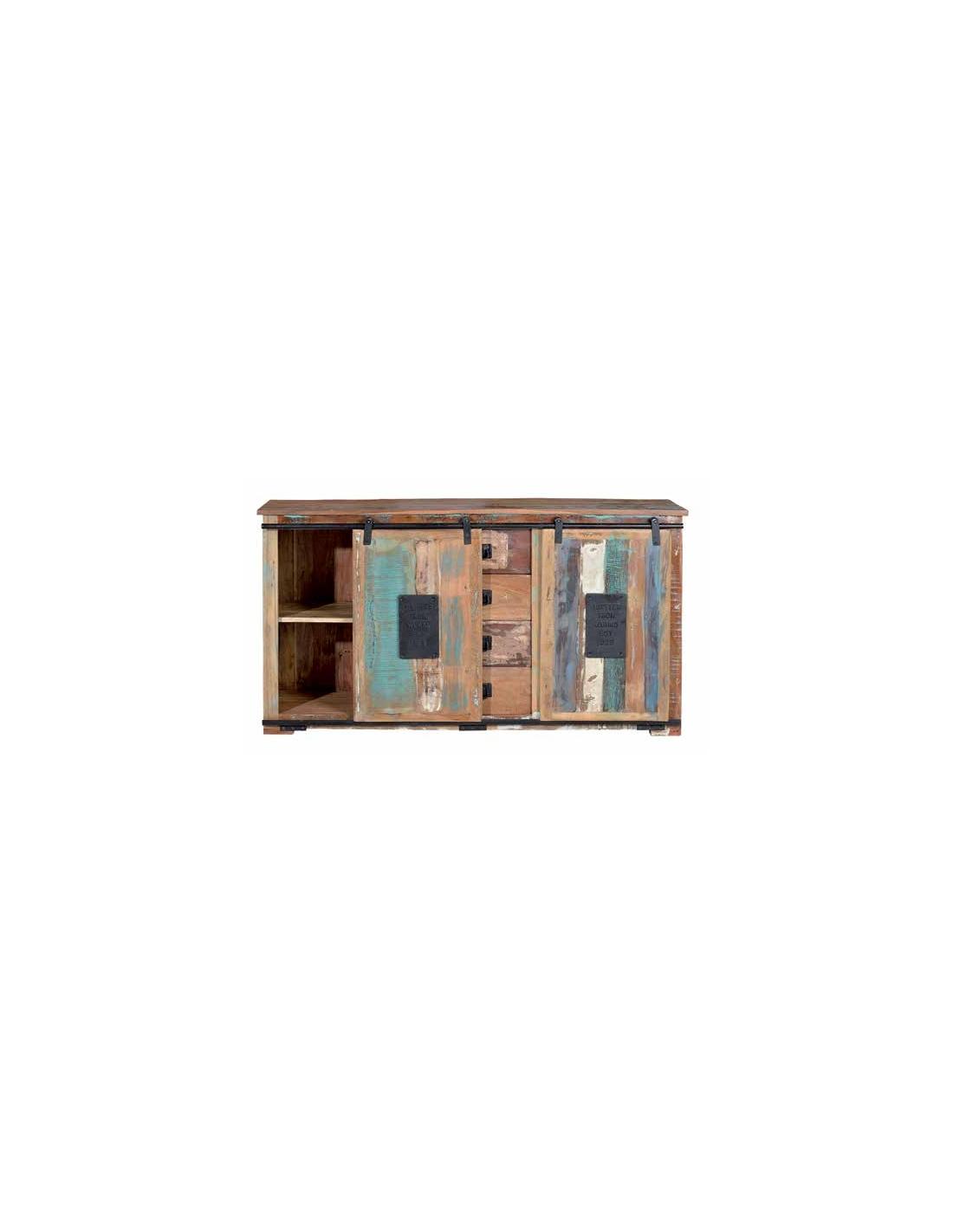 Artesanato Baiano Passo A Passo ~ Comprar Aparador vintage en madera reciclada puertas