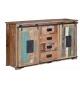 Aparador vintage de madera reciclada con cajones