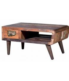 Mesa de centro madera maciza reciclada