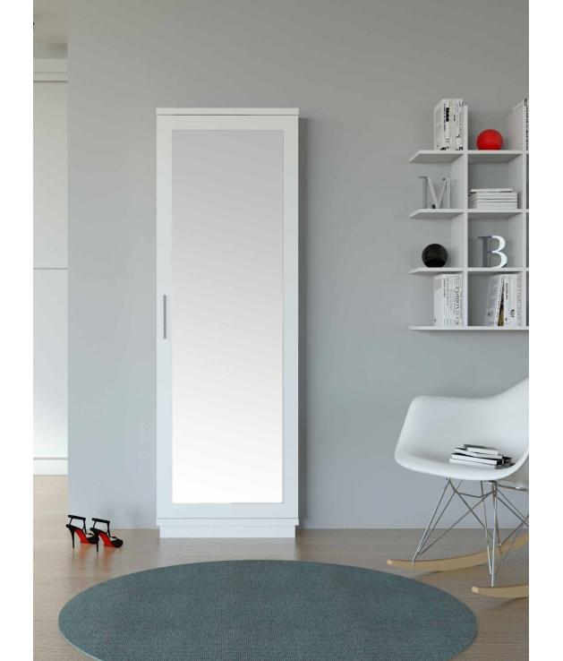 Comprar zapatero vestidor 233 con espejo for Zapatero alto con espejo