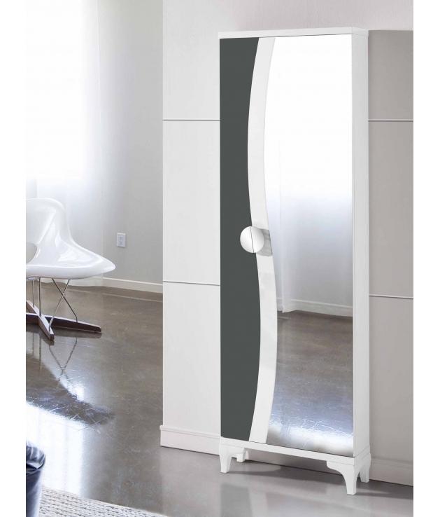Zapatero Vestidor 232 con espejo y pata chipendale