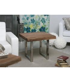 Mesa de rincón en madera de acacia