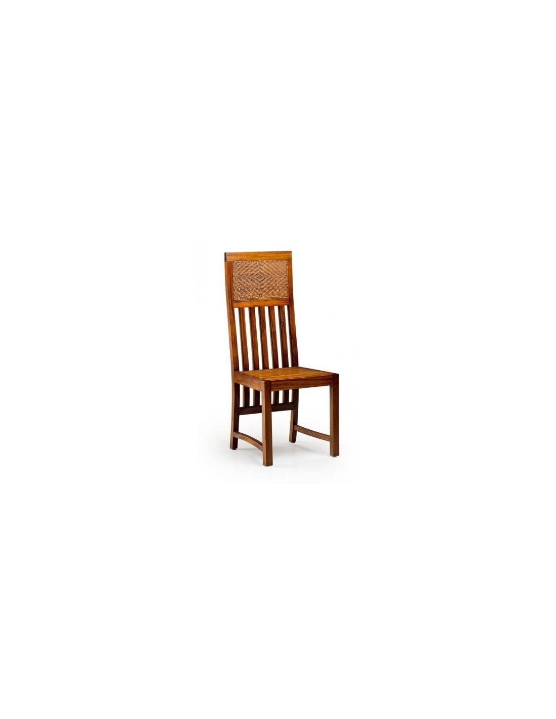 Comprar silla barrotes verticales rattan for Sillas rattan comedor