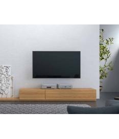 Mueble TV Zoe con dos cajones 180 cm