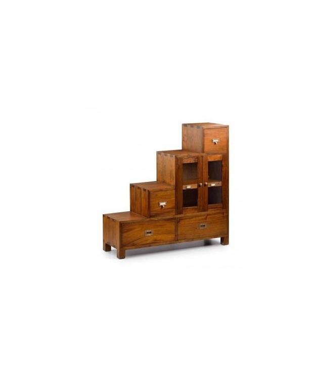 Comprar mueble escalera derecha 2 puertas 4 cajones for Mueble 4 puertas