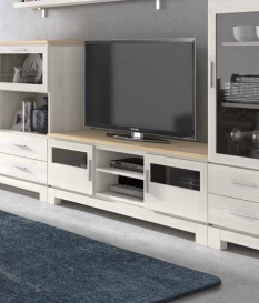 Mueble TV Vega 150 cm con dos puertas