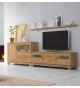 Mueble TV Vega 150 cm con dos puertas y dos cajones