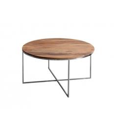Mesa de centro madera acacia 90 cm