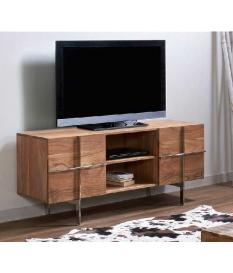 Mueble TV madera acacia Damara