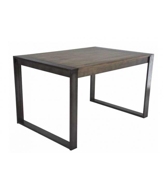 Comprar mesa de comedor extensible am 109 forja 130 170 210 cm - Sillas de forja para comedor ...
