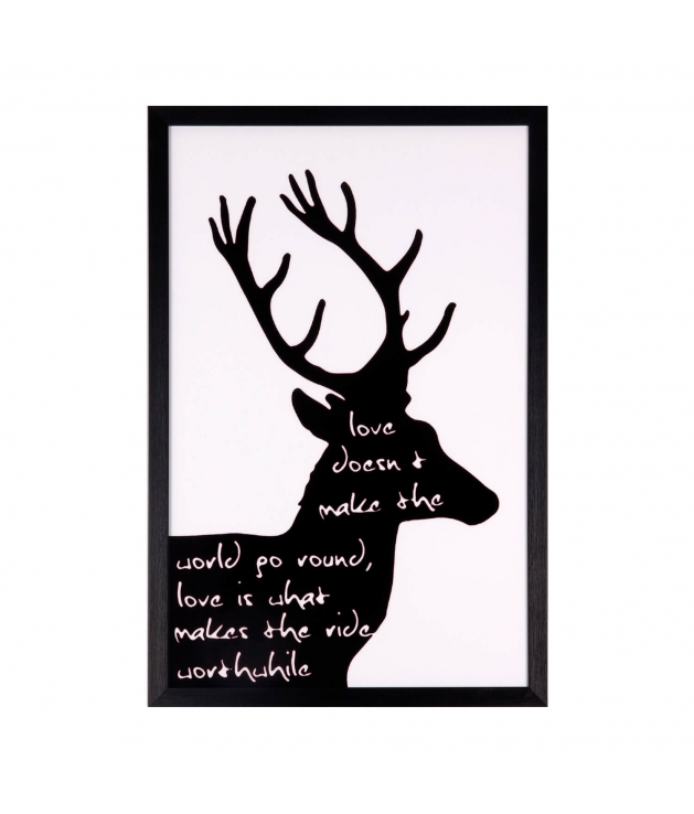 Cuadro Black Deer
