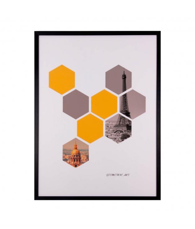 Cuadro Hexagons