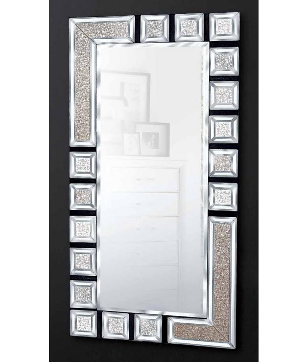 Comprar espejo rectangular dise o cuadros 120 x 60 cm for Espejo rectangular plateado