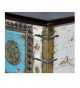 Baúl en madera mango estilo barroco de 116 x 40 x 45 cm.
