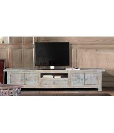 Mueble TV madera mango