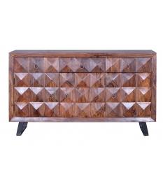 Aparador madera palisandro 3 puertas
