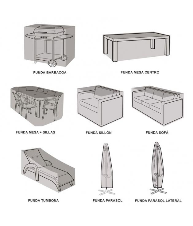 Fundas Protectoras para mueble de exterior